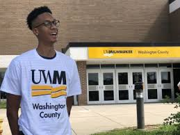 Image result for UWM at Washington County, logo