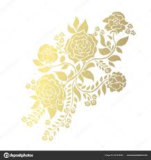 Decorative Rose Flowers Design Elements Can Used Cards