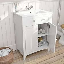 sink furniture cabinet. Camberley White Vanity Unit With Basin 600mm Sink Furniture Cabinet