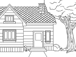 Small Picture Houses Coloring Pages Coloring Page for Kids