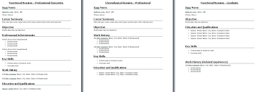 Best Formats For Resumes – Resume Template Directory