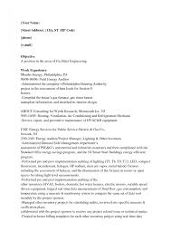 Hvac Technician Resume Examples Objective Sa Peppapp