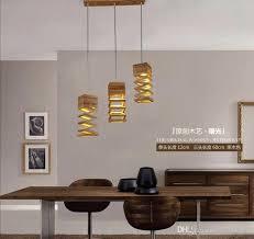 new design modern wood pendant light for dining room living room lighting home lamp fixture decoration creative wood pendant light ceiling lights
