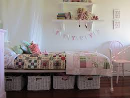 Lovely Decorating And Storage Ideas For A Little Girlu0027s Room