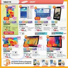 Samsung Galaxy Tab, Acer Iconia B1720 ...