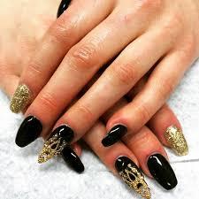 28+ Black Stiletto Nail Art Designs , Ideas | Design Trends ...