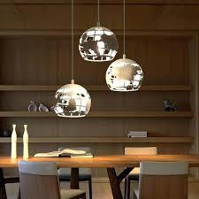 pendant lighting for bars. Unique Pendant Light Bar Dining Room Led Metal Sphere Lights For Salon Retro World Map Lamps Unusual Lighting Bars U