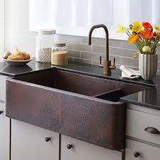 40 farmhouse duet pro double bowl copper farmhouse a front kitchen sink