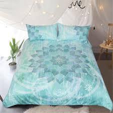 Designer Bed Sheet Set Us 32 53 42 Off Custom Made Designer Bedding Set Duvet Cover Set Creative Original Floral Lotus Boho Mandala Bed Set Twin Full Queen King Us Au In
