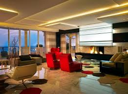 led lighting for living room. indirect lighting led ceiling in the living room strip led for h