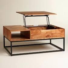 coffee table world market wood storage coffee table world market world market round hairpin coffee table