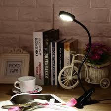 2018 led clamp lamp reading light flexible led book table desk lamp energy efficient clip on night light bed room bulb for study from cornelius