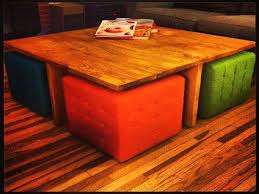 diy coffee table ottoman round coffee table remarkable unique side table storage square coffee table with