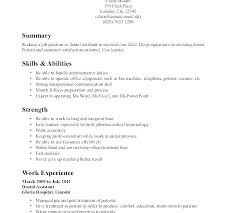 No Work Experience Resume Examples Col Fresh Resume Examples With No Beauteous Resume Ideas For No Work Experience