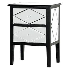 mirrored bedside table ikea