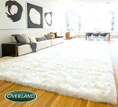 large white fur rug lovely big home giant pink faux area rugs fake