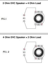 2 ohm wiring diagram dvc 4 ohm wiring dvc image wiring diagram similiar 0 ohm subwoofer wiring diagram keywords on