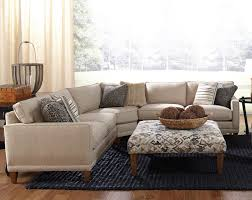 Living Room Furniture Northern Va Rowe Townsend Contemporary 3 Piece Sectional Sofa Sprintz
