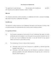 Nda Template Agreement Nda Non Disclosure Agreement Template Agreement Template Awesome