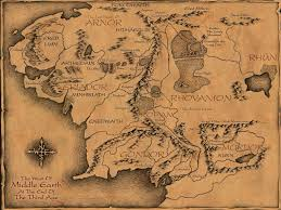 download map from lord of the rings  major tourist attractions maps