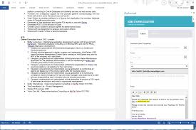 Automated Resume Formatting Service Using Microsoft Word 2013