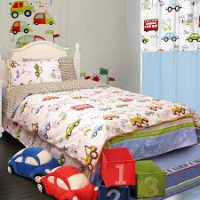 home textile bedding cartoon child baby boys and girls duvet cover cotton car bed set