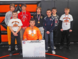 press photos by john burbridge the charles city mat club qualified eight wrestlers for the iowa