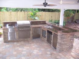 Outdoor Kitchen Creations MPTstudio Decoration - Outdoor kitchen miami