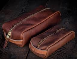 idaho based craft and lore was founded in 2016 and offers wallets belts bagore the brand offers a large leather dopp kit with a solid brass ykk