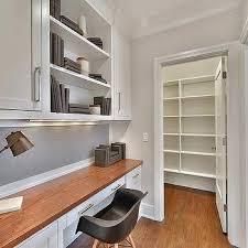 Kitchen Desk By Walk In Pantry