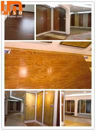 Glossy Surface Pressed V Groove Waxed Water Resistant Laminate Flooring