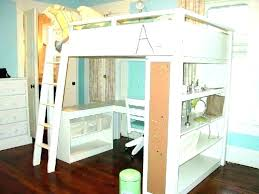 wood bunk bed with desk. Perfect With Bunk Bed And Desk Combo With Twin Over Full Loft    In Wood Bunk Bed With Desk