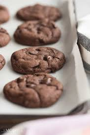4 ing double chocolate cookies are so easy but you d never know soft
