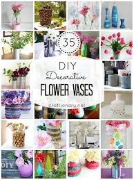 So, I decided to share some super creative ways to make DIY vases. I found  35 tutorials to make flower vases that are crafty and clever.