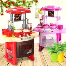 kitchen toys play set introduction 1 pretend with fun realistic features includes microwave hotplate crockery accessories