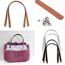 <b>2Pcs Women</b> Girls Detachable PU Leather <b>Bag</b> Strap Belt Handle ...