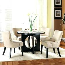 black round dining table set for 4 tables modern room sets elegant and chairs clearance