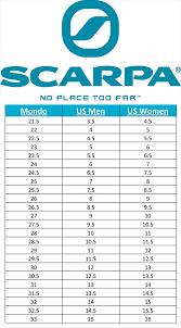 Scarpa Size Chart Scarpa T1 Telemark Ski Boots