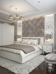 Prächtige Schlafzimmer Inspiration In Den Farben Silber Dom