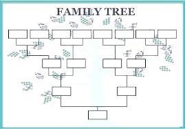4 Generation Family Tree Template Free Family Tree Printable Template Family Tree Forms To Print
