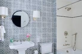 indigo mosaic bathroom tiles