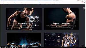 gym website design gym fitness web design web development youtube
