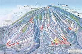 stratton mountain trail map  onthesnow