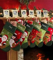 DIY family photos stocking holders for 2013 christmas