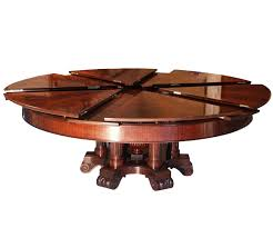 Round Expanding Dining Table Fletcher Capstan Worlds Coolest Expandable  Table Set