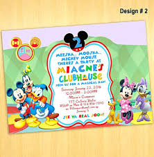 Free Mickey Mouse Invitation Template Mickey Mouse Invitation To