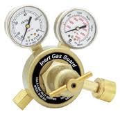 welding gas flow meter. model 25 with inert gas guard welding flow meter