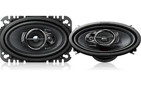 pioneer 4x6 speakers. pioneer ts-a4676r pioneer\u0027s 3-way design gives greater clarity to your sound. 4x6 speakers crutchfield