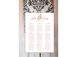 Beauty And The Beast Theme Wedding Seating Plan Wedding Plan