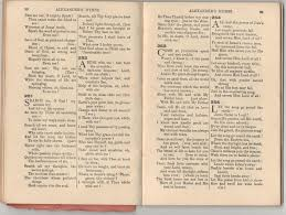 i also gloried in the index at the back containing the first line of the hymns a universal way of recognising and naming hymns in those days